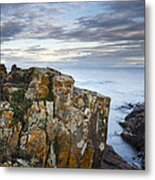 Grand Marais Cliffs Metal Print