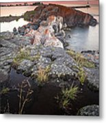 Grand Marais Harbor Metal Print by Thomas Pettengill
