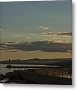Grand Marais Mn Lighthouse 5 Metal Print