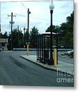 Grand/nordica Cta Bus Terminal Metal Print