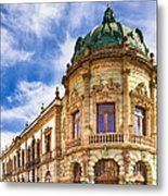Grand Old Theater In The Heart Of Oaxaca Metal Print by Mark E Tisdale