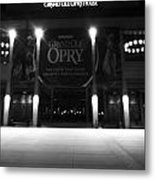 Grand Ole Opry At Night Metal Print by Dan Sproul