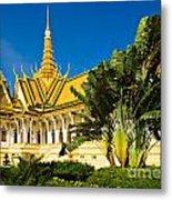 Grand Palace - Cambodia Metal Print