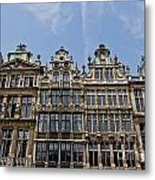 Grand Place Brussels Metal Print