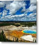 Grand Prismatic Pool Yellowstone National Park Metal Print