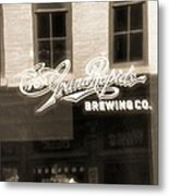 Grand Rapids Brewing Co Metal Print