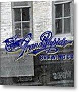 Grand Rapids Brewing Metal Print