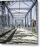 Grand Rapids Bridge Metal Print