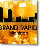 Grand Rapids Mi 3 Metal Print