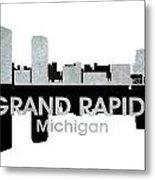 Grand Rapids Mi 4 Metal Print