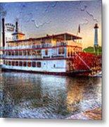 Grand Romance Riverboat Metal Print