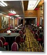 Grand Salon 04 Queen Mary Ocean Liner Metal Print