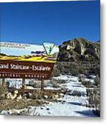 Grand Staircase-escalante National Monument Metal Print