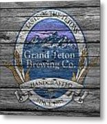 Grand Teton Brewing Metal Print