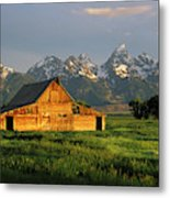 Grand Teton National Park , Wyhomestead Metal Print