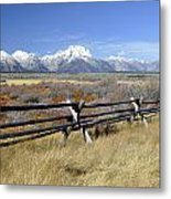 Grand Teton Nat'l Park Metal Print