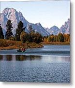 Snake River, Grand Tetons, Wyoming Metal Print