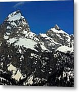Grand Tetons Wyoming Metal Print