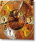 Grandfather Time Hdr Metal Print