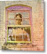 Grandma At The Window Metal Print
