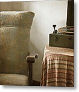 Grandma's Chair Metal Print by Margie Hurwich