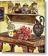 Grandma's Kitchen Metal Print by Mo T