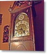 Grandmother Clock Metal Print