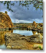 Watson Lake Prescott Arizona Metal Print