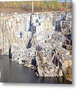 Granite Quarry, Barre, Vermont Metal Print