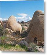 Granite Rock Formations Metal Print