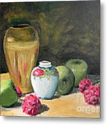 Granny's Apples Metal Print