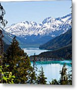 Grant Lake Overlook Metal Print by Chris Heitstuman
