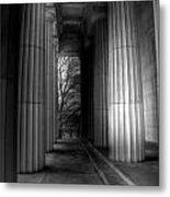 Grant's Tomb Columns Metal Print