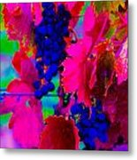 Grape Acid Metal Print