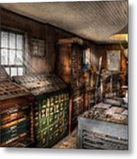 Graphic Artist - Upper And Lower Case  Metal Print