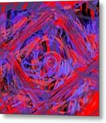 Graphic Explosion Metal Print