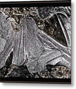 Graphic Ice Metal Print