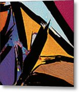 Graphite From India Metal Print