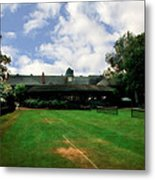 Grass Courts At The Hall Of Fame Metal Print