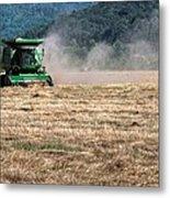 Grass Harvest 16000 Metal Print
