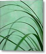 Grass Impression Metal Print