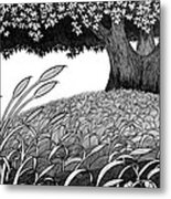 Grass Of The Earth Metal Print