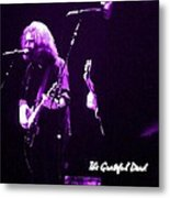 Grateful Dead In Purple - Concerts Metal Print