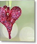 Grateful Heart Metal Print by Brenda Schwartz