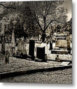 Grave Consequences Metal Print