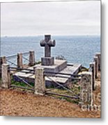 Grave Of Chateaubriand Metal Print