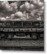 Gravel Train Metal Print