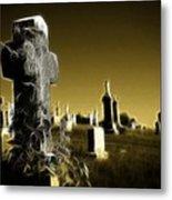 Graveyard 4730 Metal Print