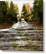 Laughing Whitefish Falls Metal Print