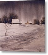 Gray Day Metal Print